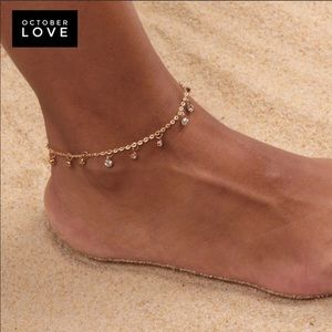 Jewelry - Gold Plated Anklet